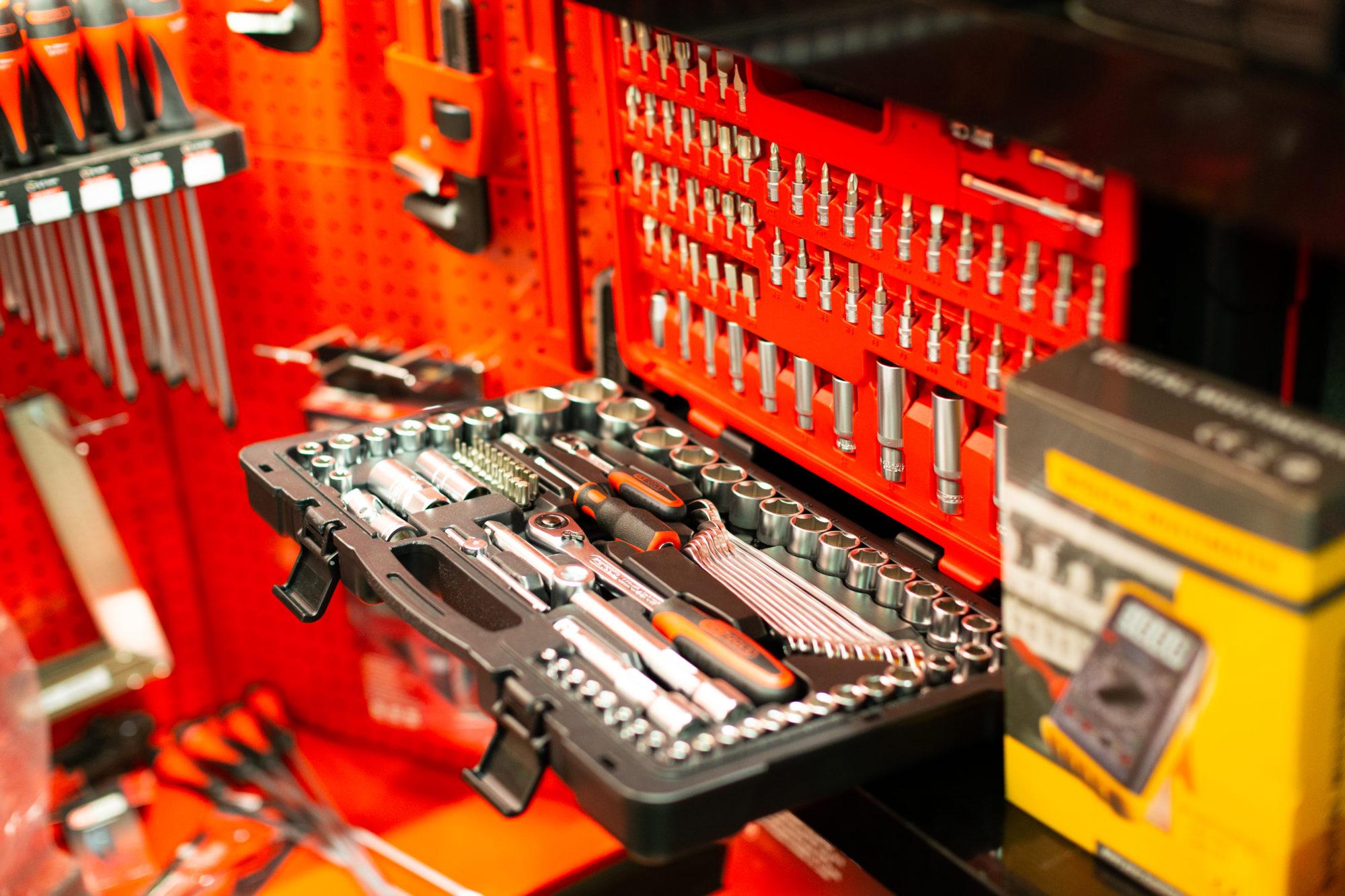 Photo de boîte à outils