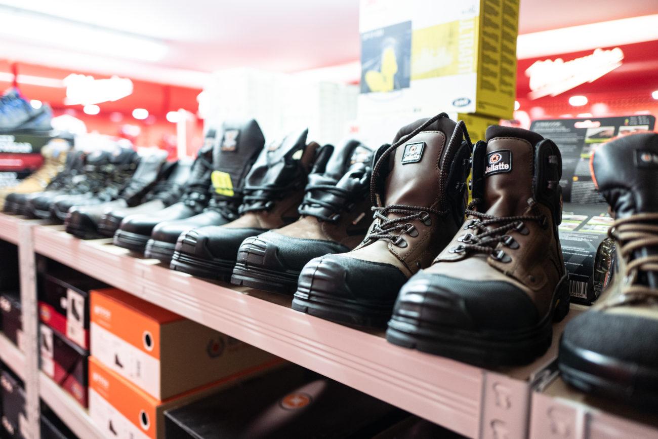 Photo de chaussure de sécurité